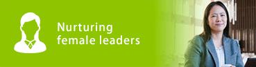 Nurturing female leaders